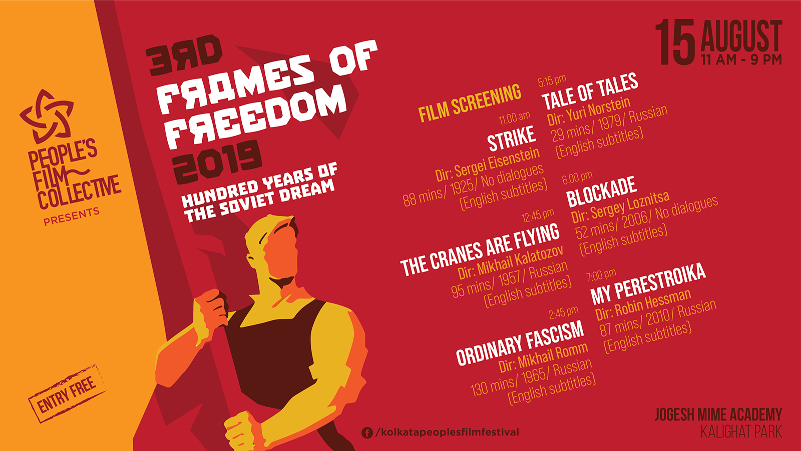 Frames of Freedom: 100 Years of the Soviet Dream